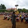 Vui tết trung thu THCS Nguyễn Khuyến